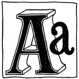 Стилизованные буквы