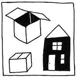 Коробки и домики