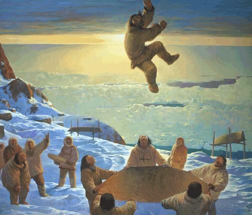 Шаманская живопись Азата Миннекаева