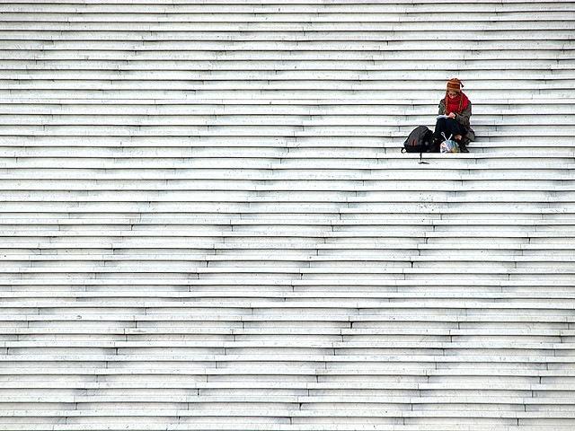 Минимализм в фотографии автор Julian Kaesler