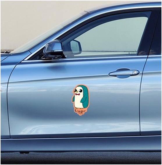 Наклейка на автомобиль - стикербомбинг