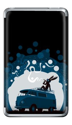 Наклейка на iPod Classic - Night Scene '11