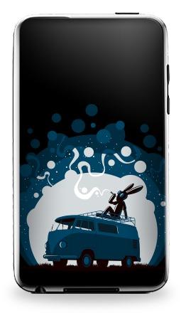 Наклейка на iPod Touch 3 - Night Scene '11
