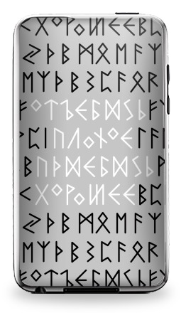 Наклейка на iPod Touch 3 - Руны