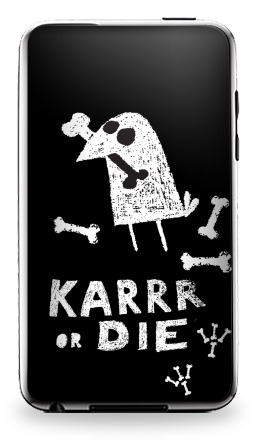 Наклейка на iPod Touch 3 - Deadcrow
