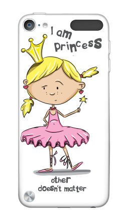 Наклейка на iPod Touch 5th gen. - I'm princess