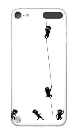 Наклейка на iPod Touch 5th gen. - Ninja