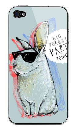 Наклейка на iPhone 4S, 4 - Кроль