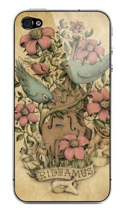 Наклейка на iPhone 4S, 4 - Rideamus