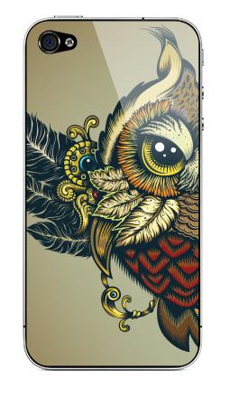 Наклейка на iPhone 4S, 4 - Совуха