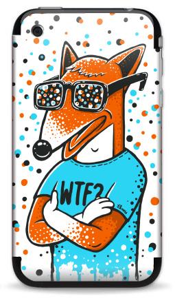 Наклейка на iPhone 3G, 3Gs - WTF?