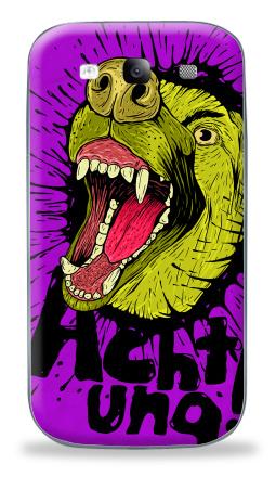 Наклейка на Galaxy S3 (i9300) - Achtung!