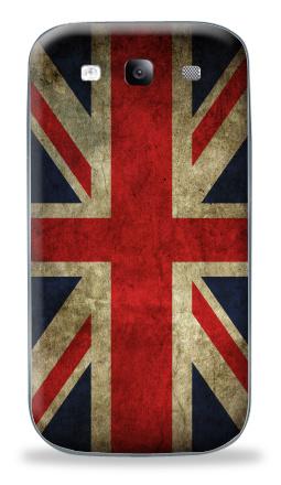 Наклейка на Galaxy S3 (i9300) - Наклейки Британский флаг