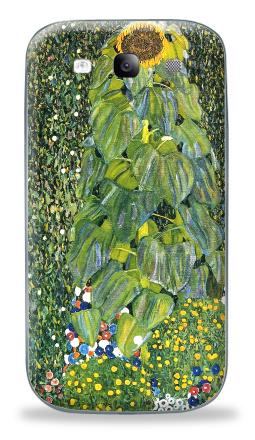 Наклейка на Galaxy S3 (i9300) - Цветы, 1907 - Густав Климт
