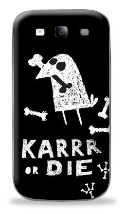 Наклейка на Galaxy S3 (i9300) - Deadcrow