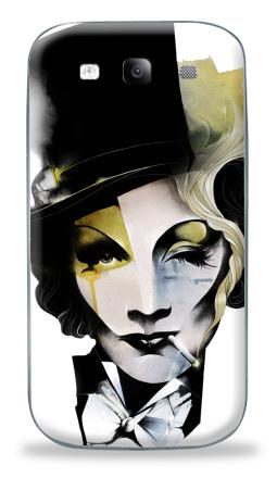 Наклейка на Galaxy S3 (i9300) - Dietrich