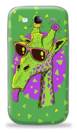 Наклейка на Galaxy S3 (i9300) - Жирафео