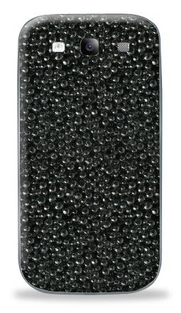 Наклейка на Galaxy S3 (i9300) - ИКРА ЧЕРНАЯ
