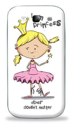 Наклейка на Galaxy S3 (i9300) - I'm princess