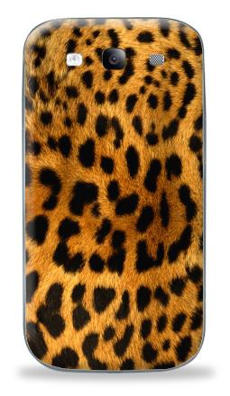 Наклейка на Galaxy S3 (i9300) - Леопардовое манто