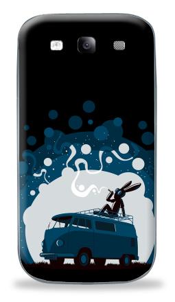 Наклейка на Galaxy S3 (i9300) - Night Scene '11