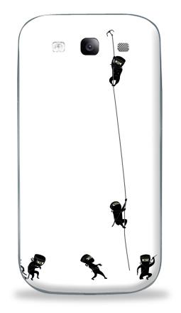 Наклейка на Galaxy S3 (i9300) - Ninja