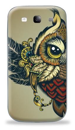 Наклейка на Galaxy S3 (i9300) - Совуха