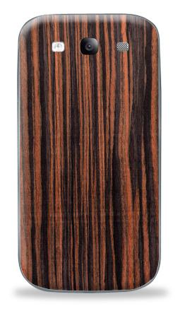Наклейка на Galaxy S3 (i9300) - Woody skin - пленка под дерево