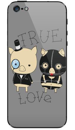 Наклейки для iPhone 5 true love