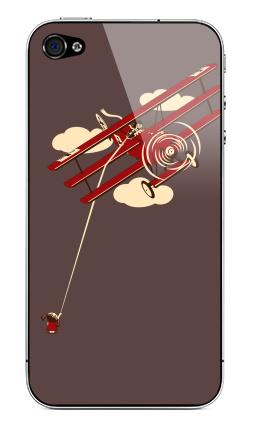 Наклейка на iPhone 4S, 4 - Pilot