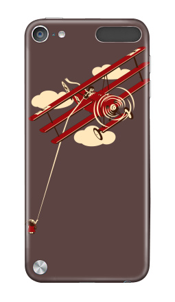 Наклейка на iPod Touch 5th gen. - Pilot