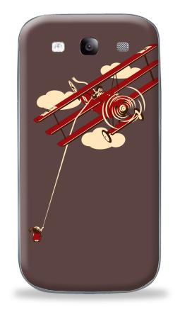 Наклейка на Galaxy S3 (i9300) - Pilot