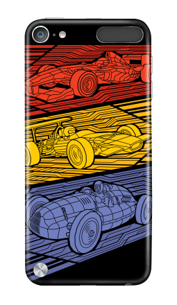 Наклейка на iPod Touch 5th gen. - Grand Prix Legends