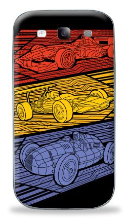 Наклейка на Galaxy S3 (i9300) - Grand Prix Legends