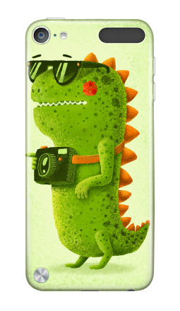 Наклейка на iPod Touch 5th gen. - Dino touristo hipsto