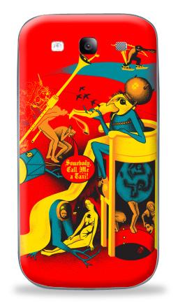 Наклейка на Galaxy S3 (i9300) - Вызов на Сады