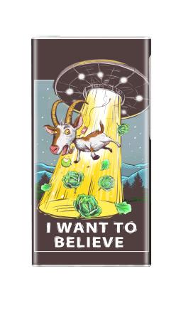 Наклейка на iPod nano  7th gen. - I want to believe