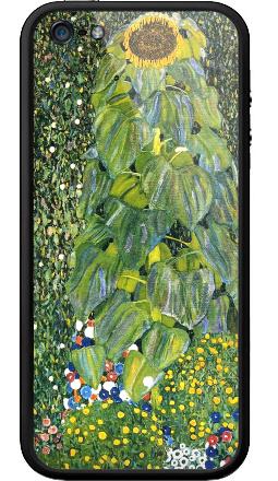 Наклейка на Бампер на iPhone 5, 5S - Цветы, 1907 - Густав Климт