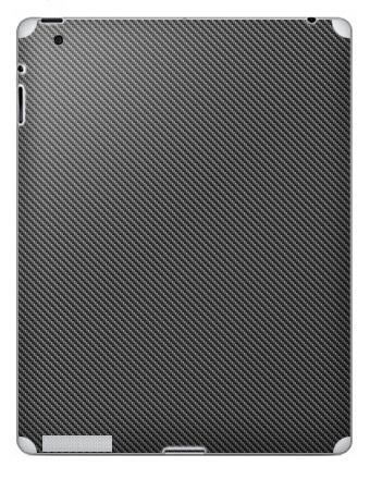 Наклейка на планшеты - iPad 2 / iPad 3 - Наклейка под карбон