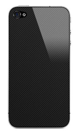 Наклейка на iPhone 4S, 4 - Наклейка под карбон