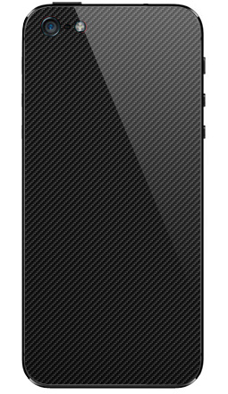 Наклейка на iPhone 5 - Наклейка под карбон