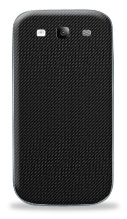 Наклейка на Galaxy S3 (i9300) - Наклейка под карбон