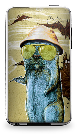 Наклейка на iPod Touch 3 - Гонзо сурок