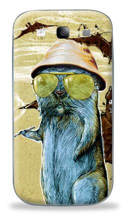 Наклейка на Galaxy S3 (i9300) - Гонзо сурок
