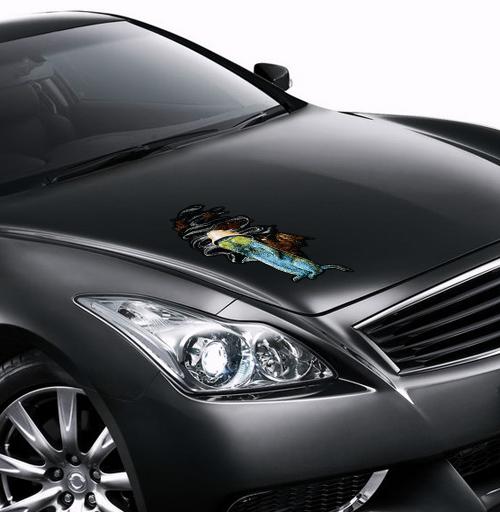 Гонзо сурок - наклейки на авто