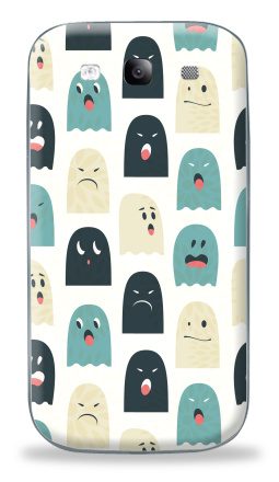 Наклейка на Galaxy S3 (i9300) - Lovely monsters
