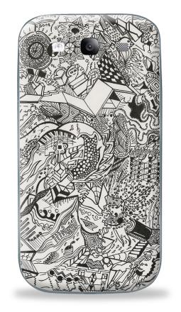 Наклейка на Galaxy S3 (i9300) - Игры разума 2
