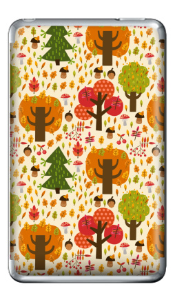 Наклейка на iPod Classic - Autumn