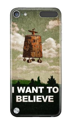 Наклейка на iPod Touch 5th gen. - I want to believe