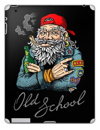 Наклейка на планшеты - iPad 2 / iPad 3 The new - Old School